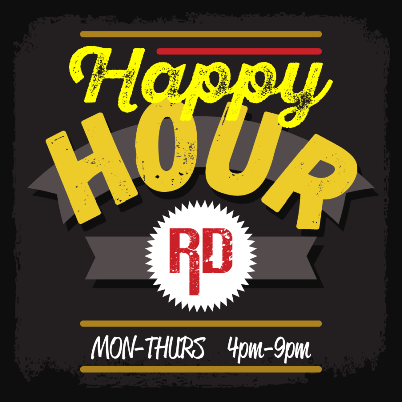 Happy Hour At Rude Dog Bar And Grill - Covina CA